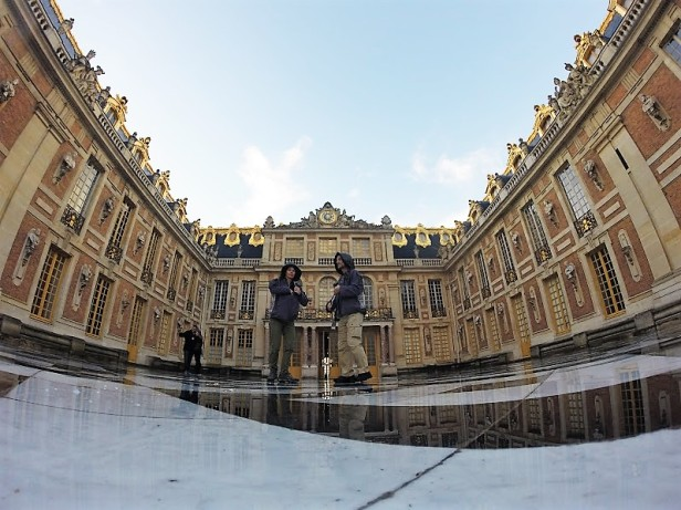 outside versailles