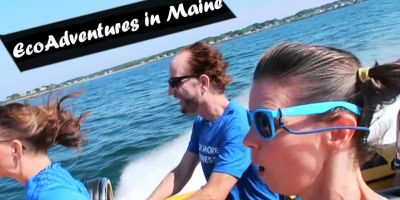 Adventures on the sea in Maine