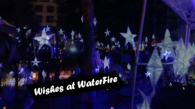 Wishes at WaterFire