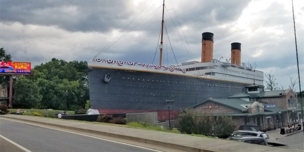 Titanic Museum in Pigeon Forge