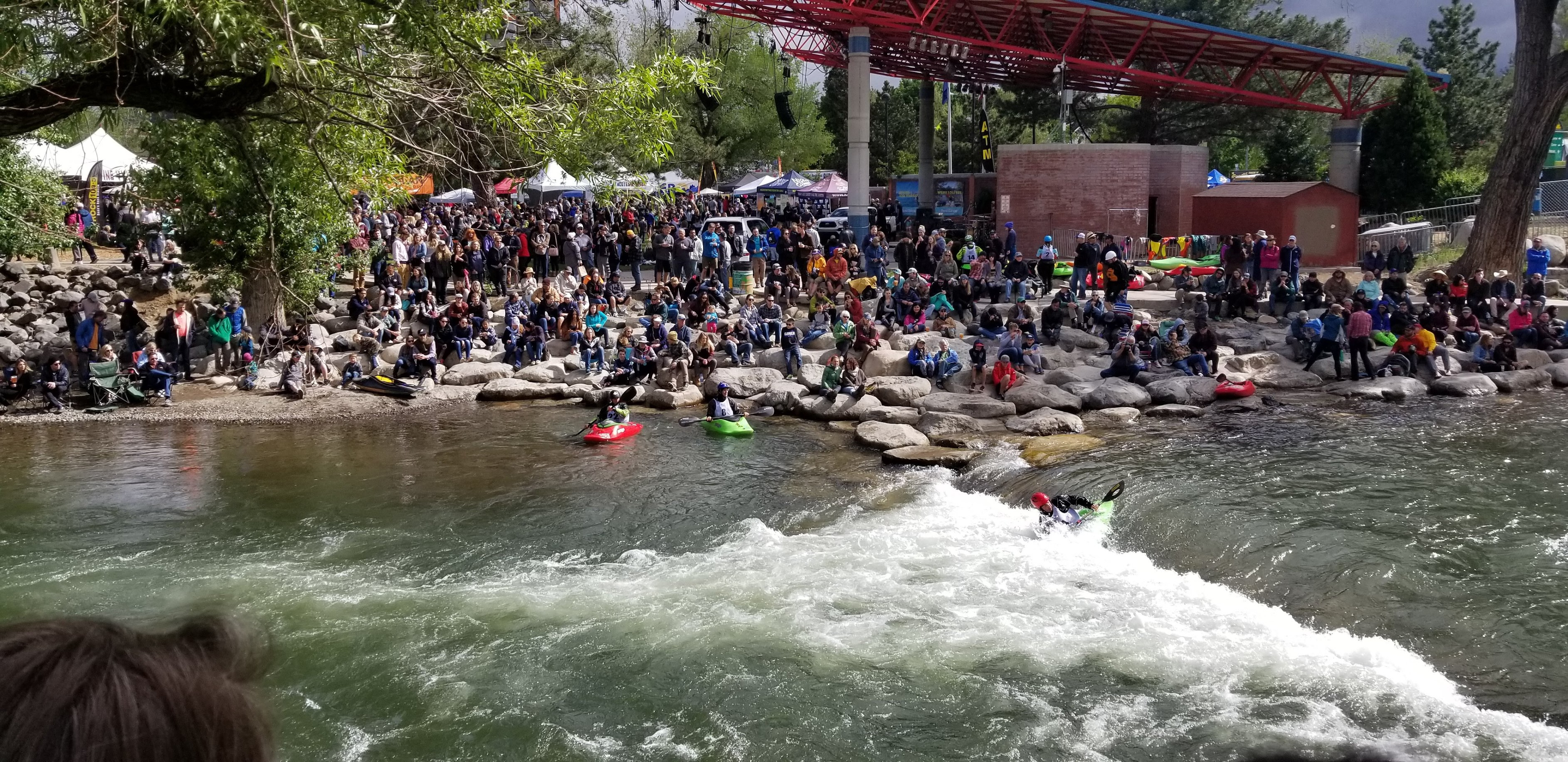 Kayak Races, Truckee River, Reno, NV