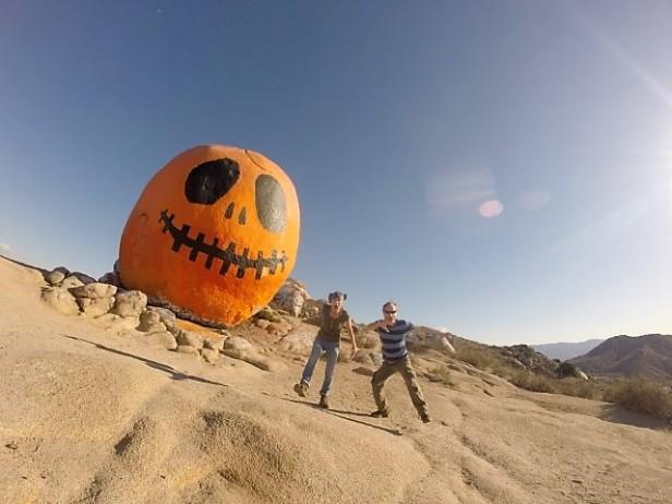 Pumpkin Rock in Norco, CA