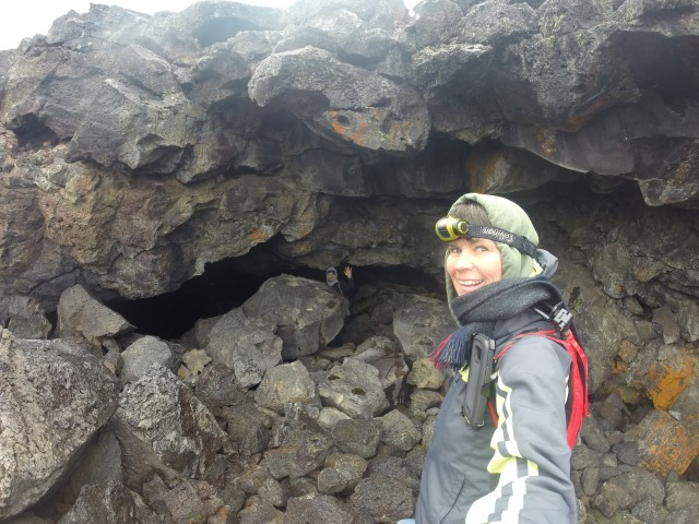 Exploring nooks and crannies at Craters of the Moon