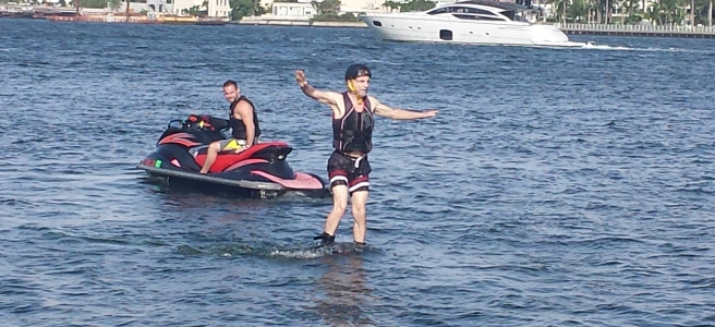 Flyboarding for the First Time