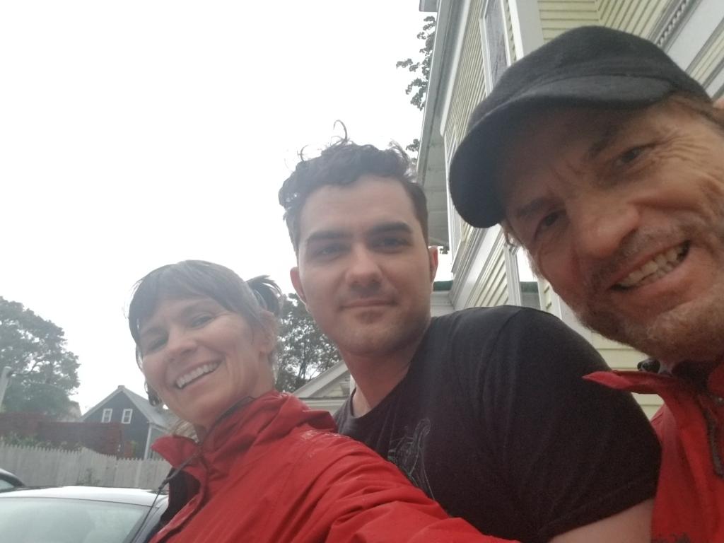 Kimberly, Zephyr and Dennis Goza